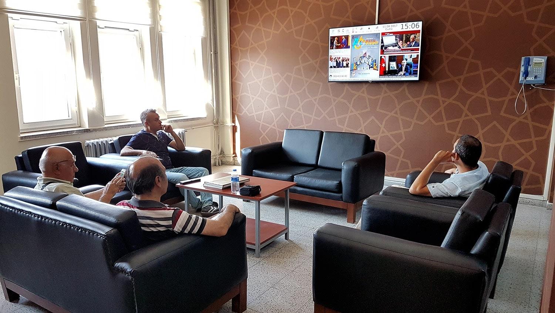 Tapu ve Kadastro Genel Müdürlüğü İç Ortam Ekran Yönetim Cihazı Kurulumu