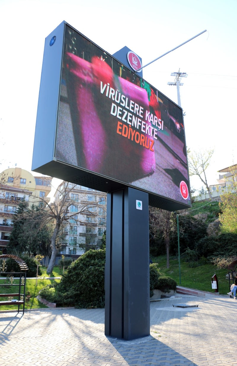 Ankara Keçiören Belediyesi Led Ekran Tamir Bakım